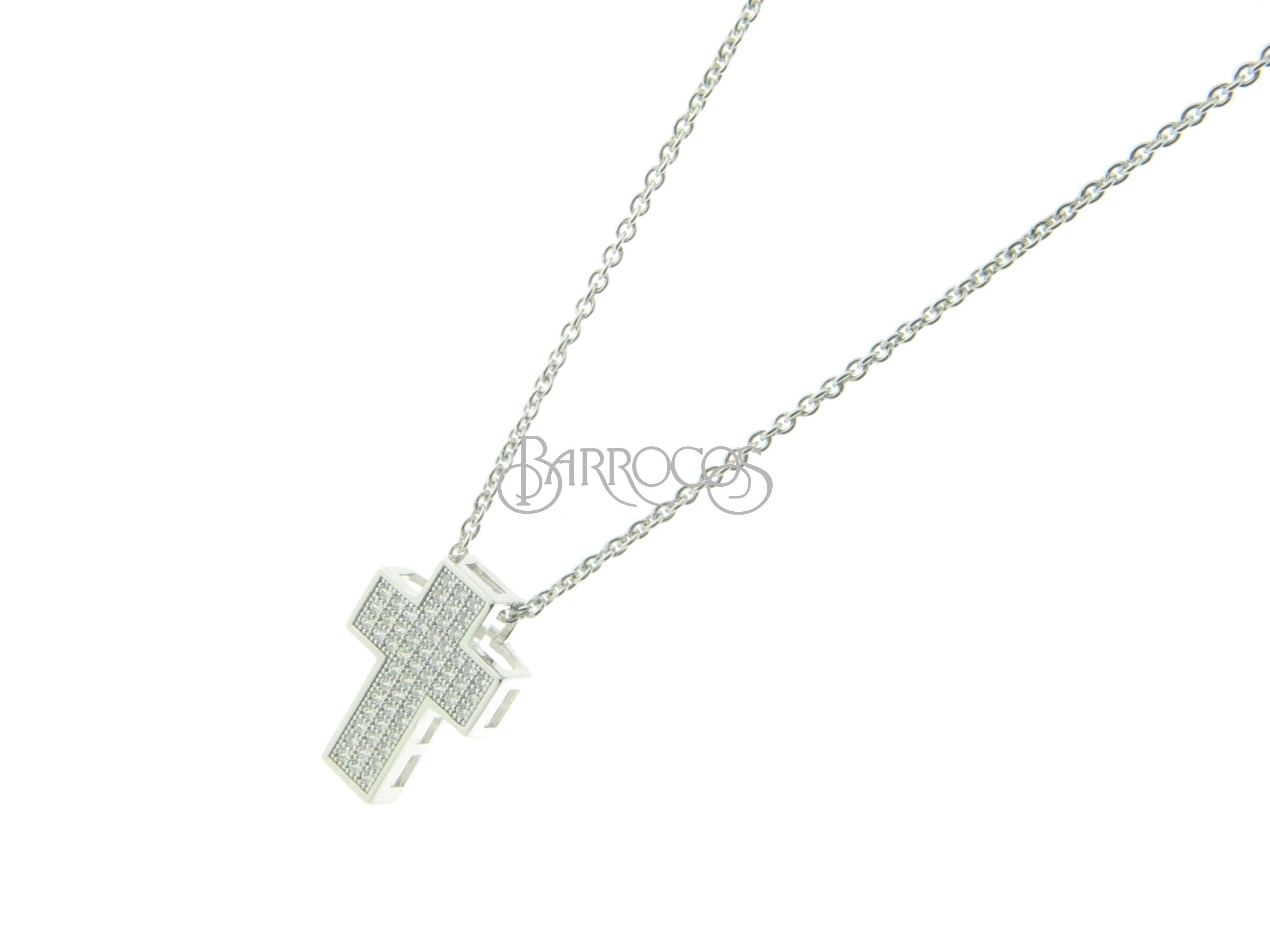 gold rose letter fashion color pin zircon love woman steel brand pendant necklace stainless cross square